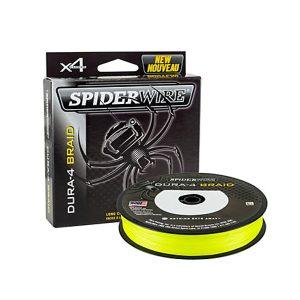 Spiderwire dura 4 | 300 meter | Gevlochten lijn | Geel