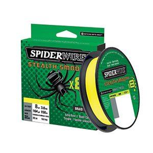 Spiderwire Stealth Smooth 8 – Geel – 300m – Gevlochten lijn